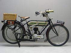 Triumph 1920 model H 550 cc 1 cyl sv