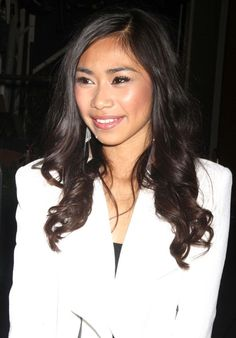Jessica Sanchez. Pretty, pink blush.