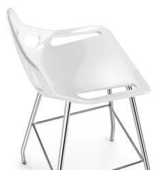 Tabouret en technopolymère CB-stool by Caimi Brevetti design Claudio Bellini