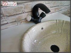 Baterie lavoar Persia Crystal culoare neagra Robin, Sink, Home Decor, Sink Tops, Vessel Sink, Decoration Home, Room Decor, Robins, Sinks