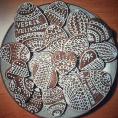 Czech Easter gingerbread decoration