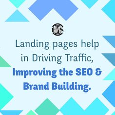 Landing pages are just important because they allow you to increase your conversions, but also because they can reduce your bounce rate. Bounce Rate, Tuesday Motivation, Brand Building, Seo Services, Search Engine Optimization, Web Development, Landing, Things That Bounce, Digital Marketing