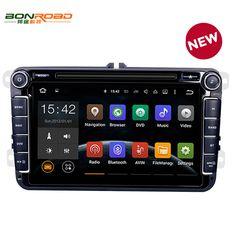 Pure Android 5.1.1 Car DVD Quad Core 16G ROM 1024*600 Screen Car Raio for VW Golf mk6 5 Polo Jetta Tiguan Passat B6 B5 CC Skoda //Price: $339.99 & FREE Shipping //     #hashtag1