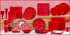 Red Tableware - Red Party Supplies - Party City