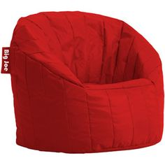 5471912f0770 3 Big Joe Lumin Chairs in red for the playroom Accent Chairs For Living  Room