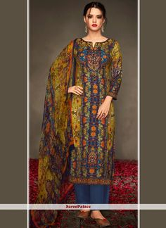 cf52277fac6 Buy Specialised Embroidered Work Viscose Designer Straight Suit Online.  Latest Anarkali SuitsFashion PantsSalwar ...