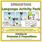 Speech Therapy: Pronouns & Prepositions for Spring      Speech Therapy / Language Activities to target pronouns and prepositions (positional conce...