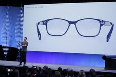 Augmented reality is expected to take center stage at Facebook's annual F8 conference for software developers on Tuesday. In this photo from Facebook's 2016 F8 conference, CEO Mark Zuckerberg talks about augmented reality glasses.(Photo: Eric Risberg/Associated... http://usa.swengen.com/facebook-plans-to-augment-your-reality-at-f8/