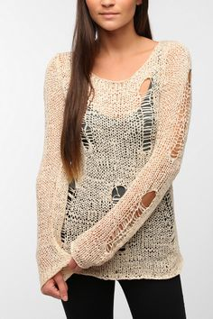 Evil Twin Bad Wiring Knit Top  #UrbanOutfitters