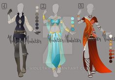 :: Adoptable Outfit 07: AUCITON OPEN :: by VioletKy.deviantart.com on @DeviantArt