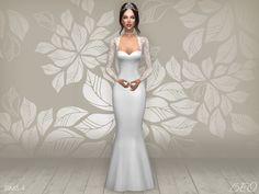 Lana CC Finds - Wedding dress Cynthia 2 (S4)