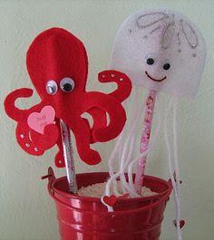 valentine octopus craft for kids