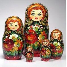 Mamushkas  Russian dolls