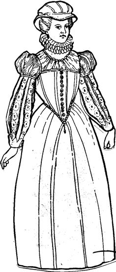 website describing different articles of Elizabethan clothing.