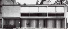 Casa en Lomas, Morván 180, Lomas Virreyes, Miguel Hidalgo, México, DF 1966   Arq. Abraham Zabludovsky -  House in Lomas, Morvan 180, Lomas Vierreyes, Mexico City 1966