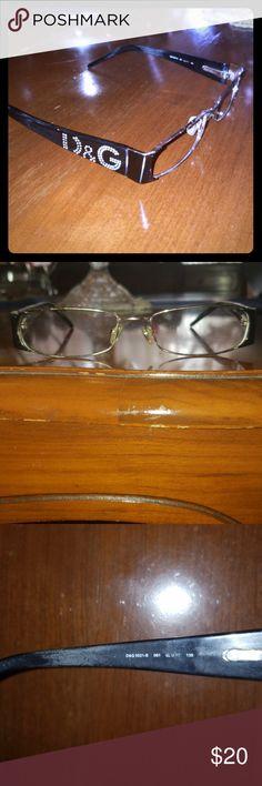 f6ec45ff1ec D amp G Dolce  amp  Gabbana women s eyeglass frames 100% authentic D amp G