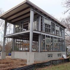 3030 home - EcoSteel - Prefab Homes & Green Building - Steel Framed Houses Steel Framed Houses - Modern Homes - Architectural Design - Steel Homes, Houses - Construction - Pre-fabricated Building & Construction - Green Building - Green Architecture - Sustainable Construction