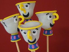 Disney's Beauty and the Beast / Chip (Cake Pops)