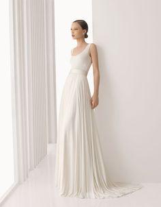 vestidos de novia sencillos | Preparar tu boda es facilisimo.