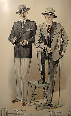 J.L. Taylor Men's Fashion Catalog 1927 - 05 | Lowden1969 | Flickr