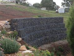 stepped gabion wall http://www.gabion1.com
