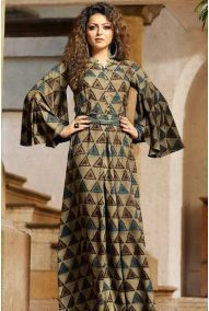 Wholesale Rayon Event Wear Designer Printed Long Length Kurtis Catalouge. This Is 10 Pcs Catalog.We assure you for best customer experience on your wholsale purchase. We are committed to send you best quality.The color visible in display picture is the closest view of the actual garment. However, slight color or shade variation can occur due to flash or lighting during photo shoot. All these kurtis are readymade available in various sizes Cotton Kurties, Cotton Gowns, Casual Dresses, Fashion Dresses, Maxi Dresses, Casual Wear, Dress Skirt, Ethnic Trends, Kinds Of Clothes