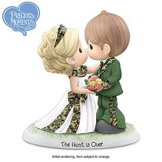 Precious Moments The Hunt Is Over Figurine
