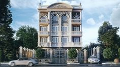 Day Dream Building on Behance