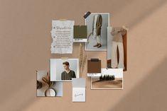 PS & Canva Chloe Moodboard Mockup Aesthetic desktop