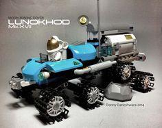 Lunokhod Mk.XVII #LEGO #MOC #space