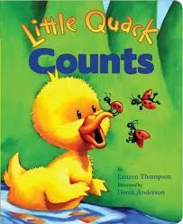 Creative and Curious Kids!: Little Quack Counts and Activities