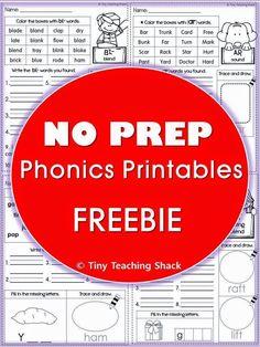 Tiny Teaching Shack: Order of Teaching Phonics