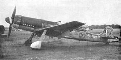 """Focke Wulf Ta152. TheFocke-Wulf Ta 152was aWorld War IIGerman high-altitudefighter-interceptordesigned byKurt Tankand produced byFocke-Wulf. The Ta 152 was a development of theFocke-Wulf Fw 190aircraft. It was intended to be made in at least three versions—the Ta 152HHöhenjäger(""""high-altitude fighter""""), the Ta 152C designed for medium-altitude operations andground-attackusing a different engine and smaller wing, and the Ta 152E fighter-reconnaissanceaircraft with the engine of…"""