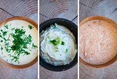 Hjemmelavet dip til chips - opskrift Dressings, Pesto Hummus, Vegetarian Recipes, Healthy Recipes, Danish Food, Tasty, Yummy Food, Sauce Recipes, Healthy Snacks