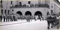 Enschede stadhuis, april mei 1945