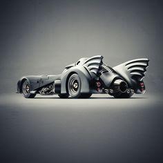 The Bat Mobile #black