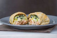 A culinary classic, worthy of upscale restaurant status, this dish is guaranteed to impress! Creamy, flaky and delicious! Salmon Wellington Recipe, Wellington Food, Upscale Restaurants, Fresh Cream, Salmon Fillets, What To Cook, Seafood, Tasty, Stuffed Peppers