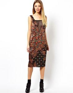 e7c64d703aa Image 1 of ASOS Tencel Denim Cami Midi Dress