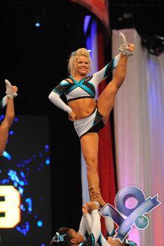 Erica Englebert Cheer Extreme Senior Elite Worlds 2013 okay... so i have to admit... Erica is my favorite...