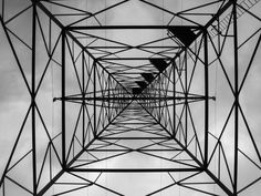 An electrical tower