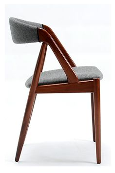 Kai Kristiansen; Upholstered Teak Dining Chair, 1960s.