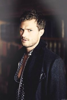 Jamie Dornan as Christian Gray...so bloody hot! ~Fifty Shades of Grey