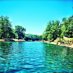 Barton Springs Pool, Austin Texas <3