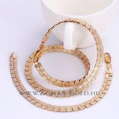 Szalome szett - Zomax Gold divatékszer www. Bracelets, Gold, Jewelry, Jewlery, Jewerly, Schmuck, Jewels, Jewelery, Bracelet