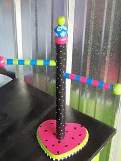 The Decorative Paintbrush: Official blog of MOLLICArt: Designs by Mary Mollica: Hair Tie Holders
