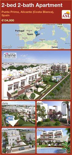 2-bed 2-bath Apartment in Punta Prima, Alicante (Costa Blanca), Spain ►€134,000 #PropertyForSaleInSpain