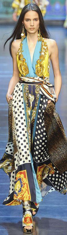 Dolce & Gabbana Fashion Show & More Luxury Details