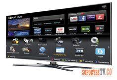 CONECTA EL SMART TV A INTERNET…  Puede conectar el TELEVISOR directamentemediante un cable de área local desde el modem o hacerlo de manera inalámbrica, aunque en este caso algunos modelos necesitarán un adaptador. Acceda al Menú pulsando Configuración de red. Elija el tipo de conexión que quiere usar y sigua los pasos que te indican: A. Cable LAN: Directamente desde el modem al televisor. B. Inalámbrico: Configure la conexión a la red inalámbrica de su hogar.