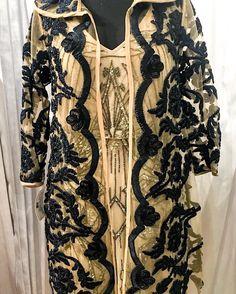 Gorgeous NEW jacket with custom detailing.  #glamour #glitz #jacket #coat #fleurdeparis #nola #royalstreet #custom #lace #beige #frenchquarter #store #followyournola by fdphats