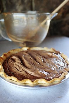 French Silk Pie by Ree Drummond / The Pioneer Woman @Irina Avrutova Dasani Drummond | The Pioneer Woman